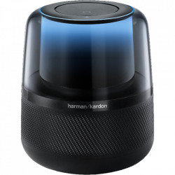 Boxa Harman Kardon Allure, Voice-Activated Speaker, 4 Mics, Amazon Alexa, 360 Sound & Light