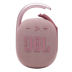 Boxa portabila JBL Clip 4, Bluetooth, IP67, 10H, Roz