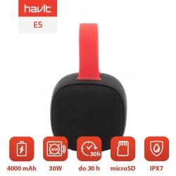 Boxe Bluetooth impermeabile E5 TWS cu IP7X, TWS, 4000mAh Power Bank