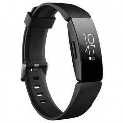 Bratara fitness Fitbit Inspire HR, Negru
