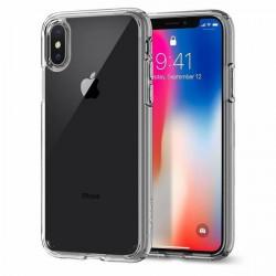 Bumper Spigen Apple iPhone X, iPhone 10 Ultra Hybrid - Crystal Clear