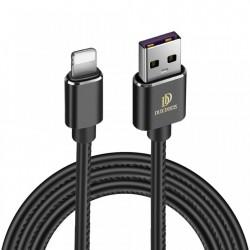 Cablu de date Dux Ducis K-Max , Usb la Lightning, 5V , 2A , 1M , negru