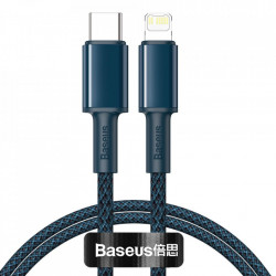Cablu telefon, Baseus USB Type C - Lightning , Power Delivery fast charge 20 W 1 m blue (CATLGD-03)