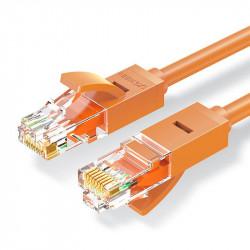 Cablu Ugreen Ethernet patchcord RJ45 Cat 6 UTP 1000Mbps 1 m orange (NW102 80832)