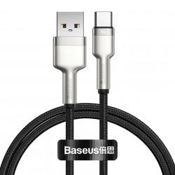 Cablu USB la USB-C Baseus Cafule, 40W, 1m (black)