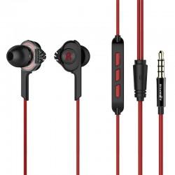 Casti audio in ear BlitzWolf BW-ES2 , rosu