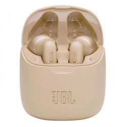 Casti audio in-ear JBL TUNE 225TWS, Bluetooth, Asistent vocal, Microfon, Pure Bass, True Wireless, Auriu