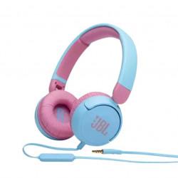 Casti audio on-ear pentru copii JBL JR310, Albastru