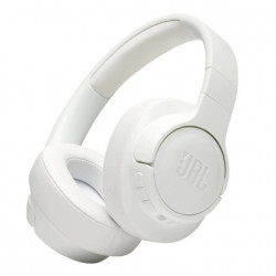 Casti JBL TUNE 750, Active Noise Cancelling, Pure Bass, Hands-Free & Voice Control, Multi-Point Connection, Alb