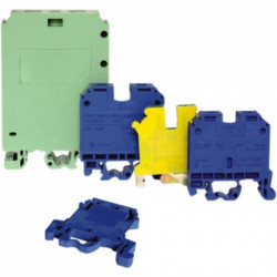 Clema sir 4mmp cu impamantare, galben-verde - MF0013-00602
