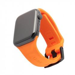 Curea silicon UAG Scout Strap Apple Watch 42/44mm portocaliu