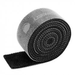 Curea velcro pentru organizarea cablurilor , UGREEN LP124 15mm, 3m - Negru