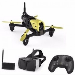 Drona pentru curse Hubsan H122D X4 Storm FPV + ochelari + monitor LCD