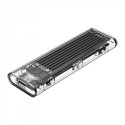 Enclosure SDD M.2 Orico, NVME, USB-C 3.1 Gen.2, 10Gbps (black)