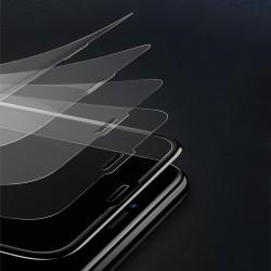 Folie din sticla temperata mata, 3D, Baseus Rigid-edge, 0.3 mm, pentru iPhone XS / X, negru