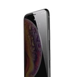 Folie telefon privacy, Baseus Diamond Body, grosime 0.3 mm, pentru iPhone XS Max, negru