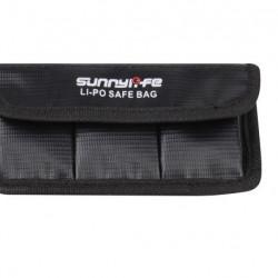 Geantă de protecție pentru 3 baterii LiPo Sunnylife pentru DJI Osmo Action