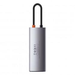 Hub 5in1 Baseus Metal Gleam Series, USB-C la 3x USB 3.0 + HDMI + USB-C PD