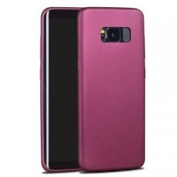 Husa de protectie originala X-LEVEL Guardian, super slim pentru Samsung Galaxy S8 Plus, Red wine