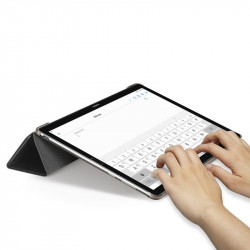 Husa Huawei MediaPad M5, MediaPad M5 Pro Flip Spigen Smart Fold - Negru