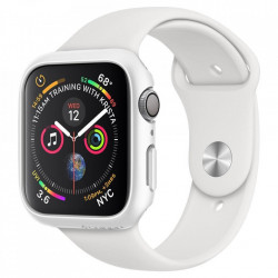 Husa protectoare Spigen Thin Fit Apple Watch 4/5 (40MM) Alb