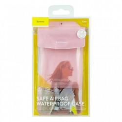 Husa protectoare telefon Baseus Safe Airbag Waterproof , roz