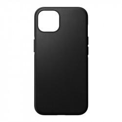 Husa telefon din piele naturala Nomad MagSafe Rugged, black - iPhone 12/12 Pro