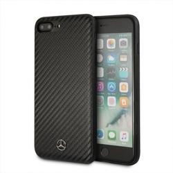 Husa telefon iPhone 7/8 plus, Mercedes, piele ecologica, negru