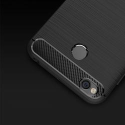 Husa telefon TPU model carbon , Gema Mixt pentru Samsung Galaxy A6 2018 A600 , neagra