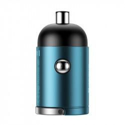 Incarcator auto Baseus Tiny Star Mini USB-C, QC 4.0+, PD, 30W - Blue