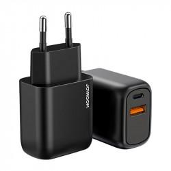 Incarcator priza Joyroom USB Type C / USB 20 W Power Delivery Quick Charge 3.0 black (L-QP204)