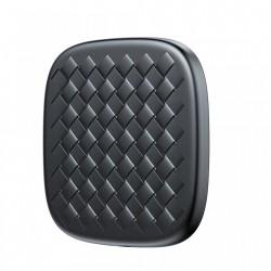 Incarcator Rapid Wireless Qi Universal - Baseus Bv, 2A , Textura de tesatura, negru