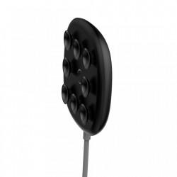 Incarcator wireless original Baseus Suction Cup Wireless , incarcare rapida , safe , QI charge , negru