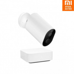 Kit Xiaomi Imilab EC2 camera de supraveghere pentru exterior wireless, gateway, compatibil Mi Home EU, senzori IR, IP66, 1080P, versiune EU
