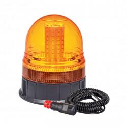 Lampa/girofar de avertizare LED W09M MAG / 3 BOLT, ECE R10 80LED 12 / 24V IP56