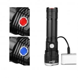 Lanterna Supfire X17, USB, 1100lm, 500m