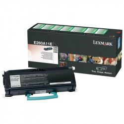 LEXMARK E260A11E BLACK TONER