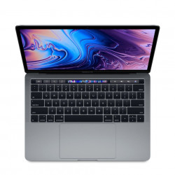 "MacBook Pro 13"" Touch Bar, 256GB SSD, Procesor 2.4GHz Quad-Core, Space Grey, RO KB - MV962"