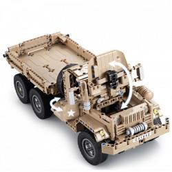 Masina de jucarie Double Eagle C51042W din blocuri lego