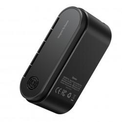 Mini compresor auto,portabil, baterie 18650 mAh, Baseus - gri
