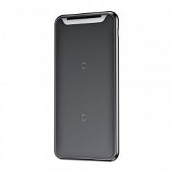 Pad incarcare telefon wireless cu bobina tripla , Baseus Three-Coil Qi , negru