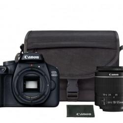 PHOTO CAMERA CANON KIT 4000D+18-55+BAG