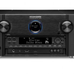 Receiver Marantz SR8012, 11.2 Canale, 205W /canal, Wi-Fi, Dolby Atmos, DTS X, Negru - Resigilat