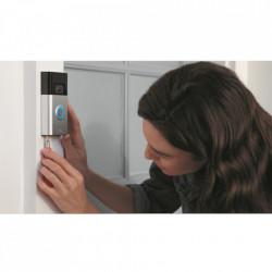 RING Sonerie Video Doorbell (2nd Gen) Satin Nicke Argintiu