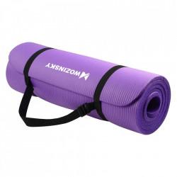 Saltea fitness antiderapanta 181 cm x 63 cm x 1 cm mov(WNSP-violet)