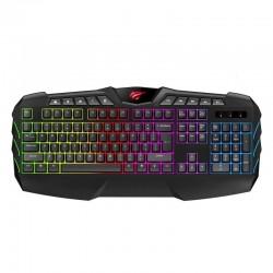 Set 4 în 1 Havit mouse + mouse pad + căști + tastatură