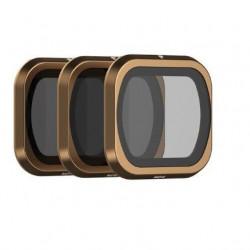 Set de 3 filtre de obturare PolarPro Cinema Series pentru DJI Mavic 2 Pro