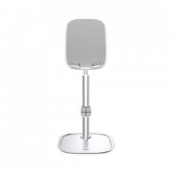 Stand telefon / tableta telescopic, Baseus Desktop Bracket silver (SUWY-A0S)