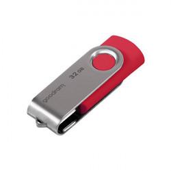 Stick USB Goodram 32GB USB 3.2 Gen 1 60 MB/s (rd) - 20 MB/s (wr) red (UTS3-0160R0R11)