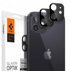 Sticla protectoare lentile SPIGEN OPTIK.TR pentru IPHONE 12 NEGRU
